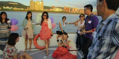 浪漫遊艇幸福啟航